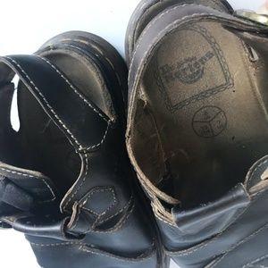 Dr. Martens Shoes - VTG. Dr. Martens Leather Sandals Fisherman